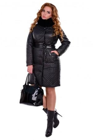 Modus: Пальто «Андрия Donna Стеганое Песец Зима» 6656 - главное фото