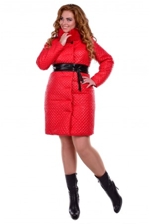 Modus: Пальто «Андрия Donna Стеганое Песец Зима» 6657 - главное фото