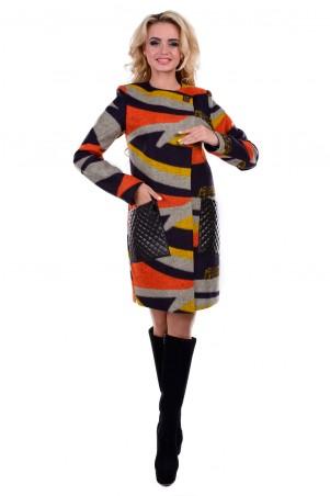 Modus: Пальто «Милан Шерсть Принт» 6865 - главное фото