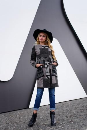 Modus: Пальто «Милан Шерсть Принт» 6866 - главное фото