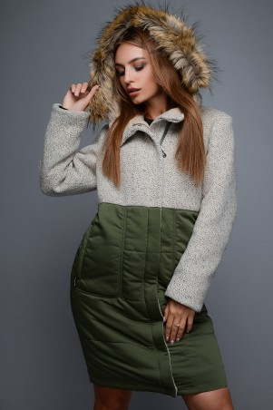 X-Woyz: Зимнее пальто LS-8688 - главное фото