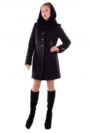 Modus: Пальто «Палермо Шерсть Зима Хомут» 4596 - главное фото