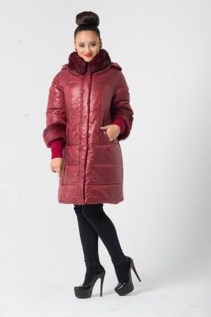Riches: Стильное зимнее пальто 525 - главное фото