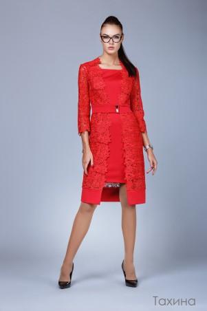 Angel PROVOCATION: Комплект(платье+кардиган) Тахина - главное фото