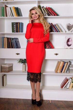 Modus: Платье»Сейми Ажур Джерси» 7115 - главное фото