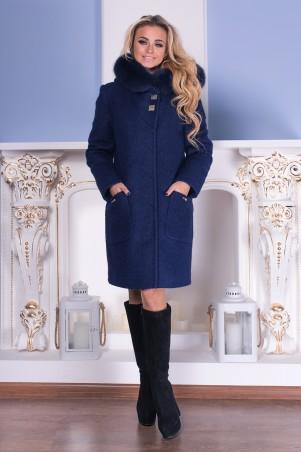 Modus: Пальто «Делфи Букле Крупное Зима Песец» 7895 - главное фото