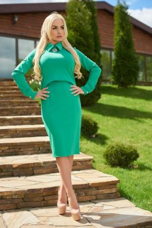 Lux Look: Костюм Камила Зеленый Костюм Камила 314 - главное фото