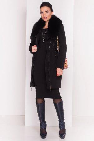 Modus: Пальто «Бренд Песец Зима Шнуровка» 7899 - главное фото