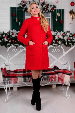 Modus: Пальто «Мелини Букле Крупное Зима Б/м» 7756 - главное фото
