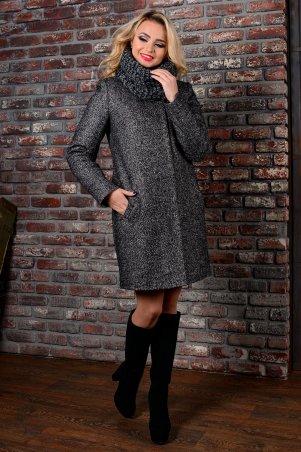 Modus: Пальто «Фортуна Лайт Букле Мелкое Хомут Зима» 8060 - главное фото