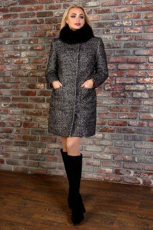 Modus: Пальто «Мелини Букле Крупное Песец Зима» 7781 - главное фото