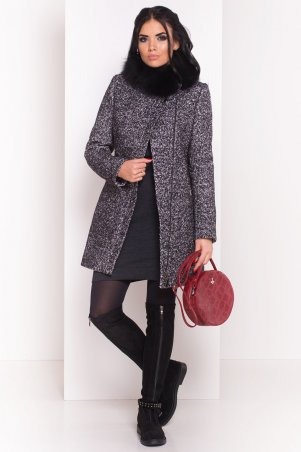 Modus: Пальто «Эльпассо Букле Крупное Песец Зима « 7510 - главное фото
