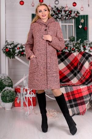 Modus: Пальто «Делфи Букле Крупное Зима» 8315 - главное фото