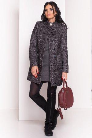 Modus: Пальто «Мелини Букле Крупное Зима Хомут» 8363 - главное фото