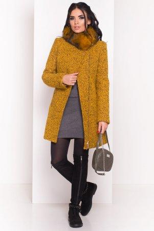 Modus: Пальто «Эльпассо Букле Крупное Песец Зима « 7511 - главное фото