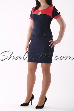 ShaArm: Платье Офисное 9843 9843 - главное фото