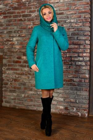 Modus: Пальто «Фортуна Лайт Букле Крупное Хомут Зима» 7219 - главное фото