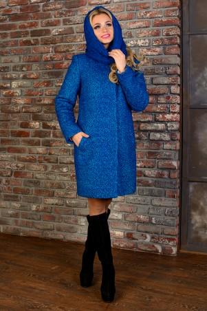 Modus: Пальто «Фортуна Лайт Букле Крупное Хомут Зима» 8410 - главное фото