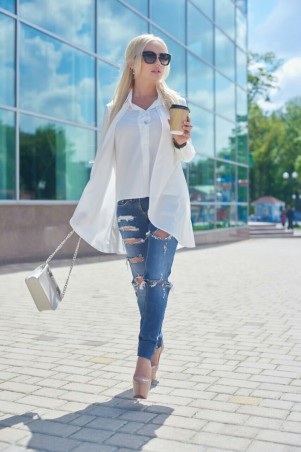 Lux Look: Рубашка Двойная 247 - главное фото