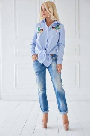 Lux Look: Рубашка LuxLoook Птичка 291 Двойная 248 - главное фото