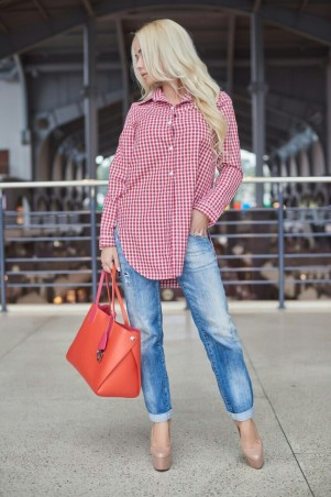 Lux Look: Рубашка Завязка  278 - главное фото