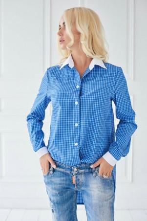 Lux Look: Рубашка Завязка манжет 292 - главное фото