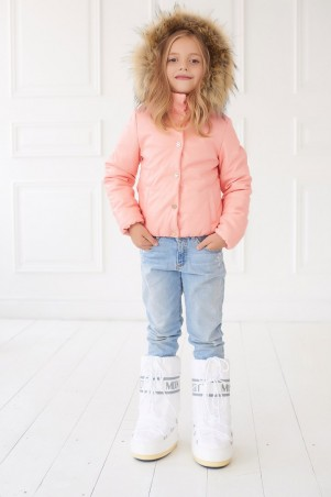 Lux Look: Куртка Кожа Детская 348 - главное фото