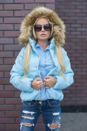 Lux Look: Куртка Кожа короткая 392 - главное фото