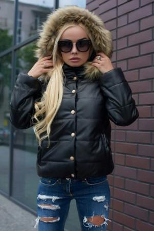 Lux Look: Куртка Кожа короткая 388 - главное фото