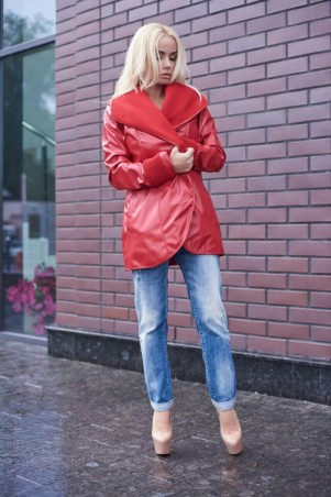 Lux Look: Куртка Кожа Довяз 315 - главное фото