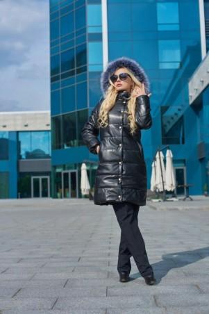 Lux Look: Куртка Кожа длинная 402 - главное фото