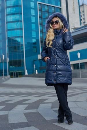 Lux Look: Куртка Кожа длинная 401 - главное фото