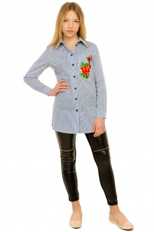 Tashkan. Рубашка Кливия. Артикул: 1516