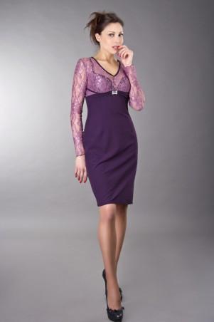 GHAZEL: Платье Паула гипюр 10408 - главное фото