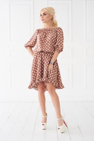 Lux Look. Платье. Артикул: Горошек 689