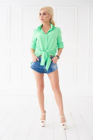 Lux Look. Рубашка. Артикул: Завязка  706