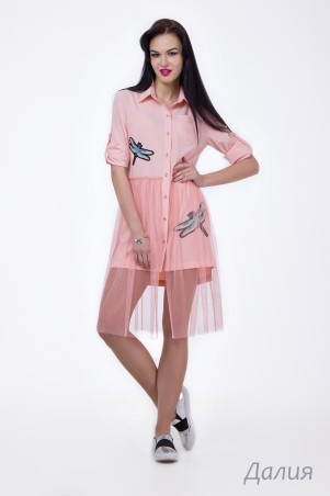 Angel PROVOCATION. Платье-рубашка. Артикул: Далия
