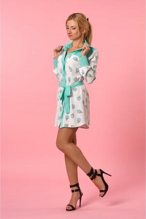 SL-Fashion. Платье-рубашка. Артикул: 990