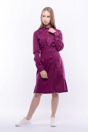 ShaArm. Платье - Рубашка С Длинным Рукавом. Артикул: 1743