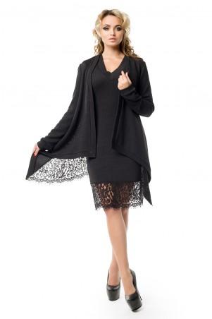 Zuhvala: КОМПЛЕКТ (платье + накидка) Брауни - главное фото