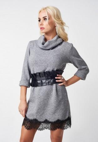Lux Look. Платье. Артикул: с кружевом 793