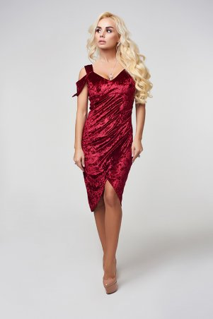 Lux Look: Платье бархат 851 - главное фото