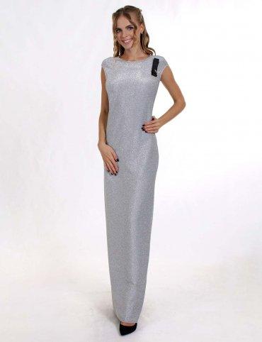 Enigma. Платье вечернее из трикотажного люрикса. Артикул: G3010