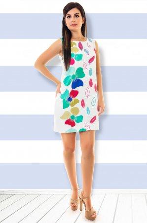 Velurs: Платье Цветные листья 21113 211113 - главное фото
