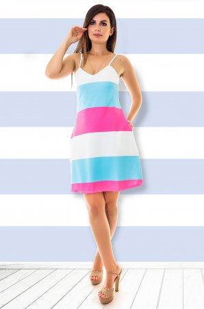 Velurs. Платье полоски. Артикул: 211114