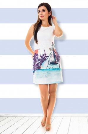 Velurs. Платье Морское. Артикул: 211123