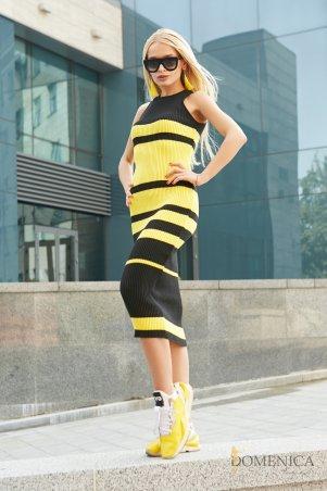 Domenica. Сексуальное платье-лапша длиной ниже колена от Доменика. Артикул: V 50