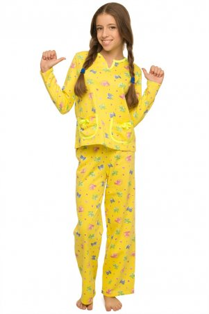 Tashkan. Пижама Бемби, желтый. Артикул: 1377000003