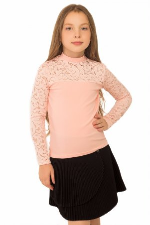 Tashkan. Блуза Лицей-гипюр дл.р., персиковый. Артикул: 1185000001