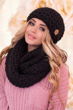 Braxton: Комплект «Марена» (шапка и шарф-снуд) 4617-8 - главное фото